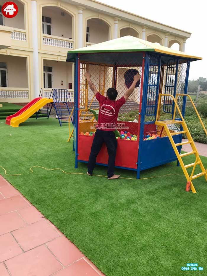 Sản xuất lắp đặt đồ chơi ngoài trời cho bé mầm non tại Hà Tĩnh-5