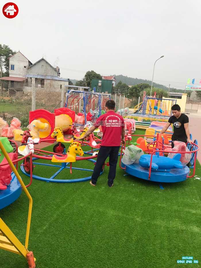 Sản xuất lắp đặt đồ chơi ngoài trời cho bé mầm non tại Hà Tĩnh-6