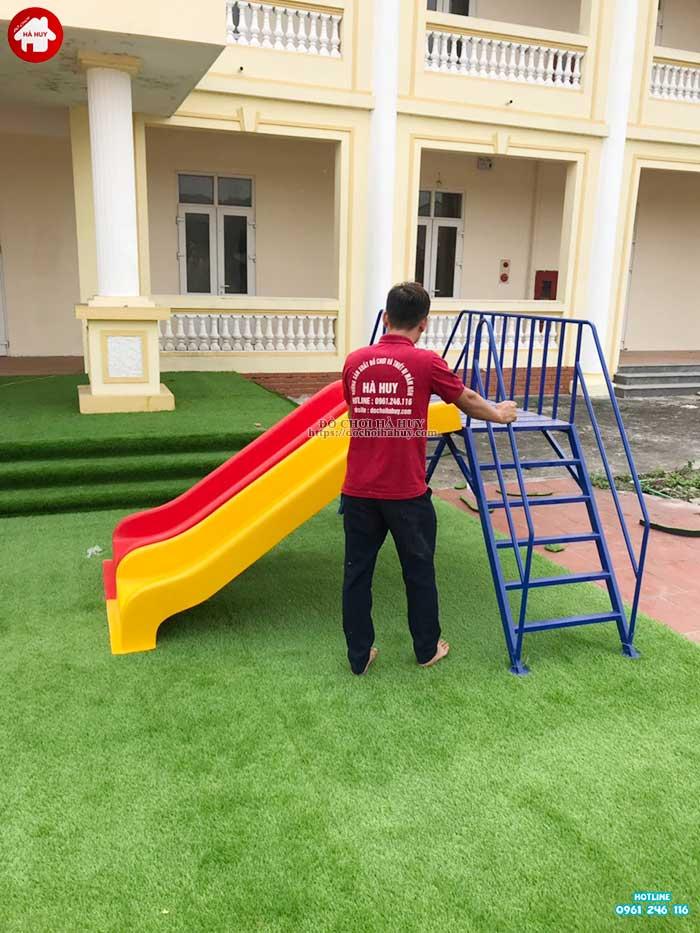 Sản xuất lắp đặt đồ chơi ngoài trời cho bé mầm non tại Hà Tĩnh-7