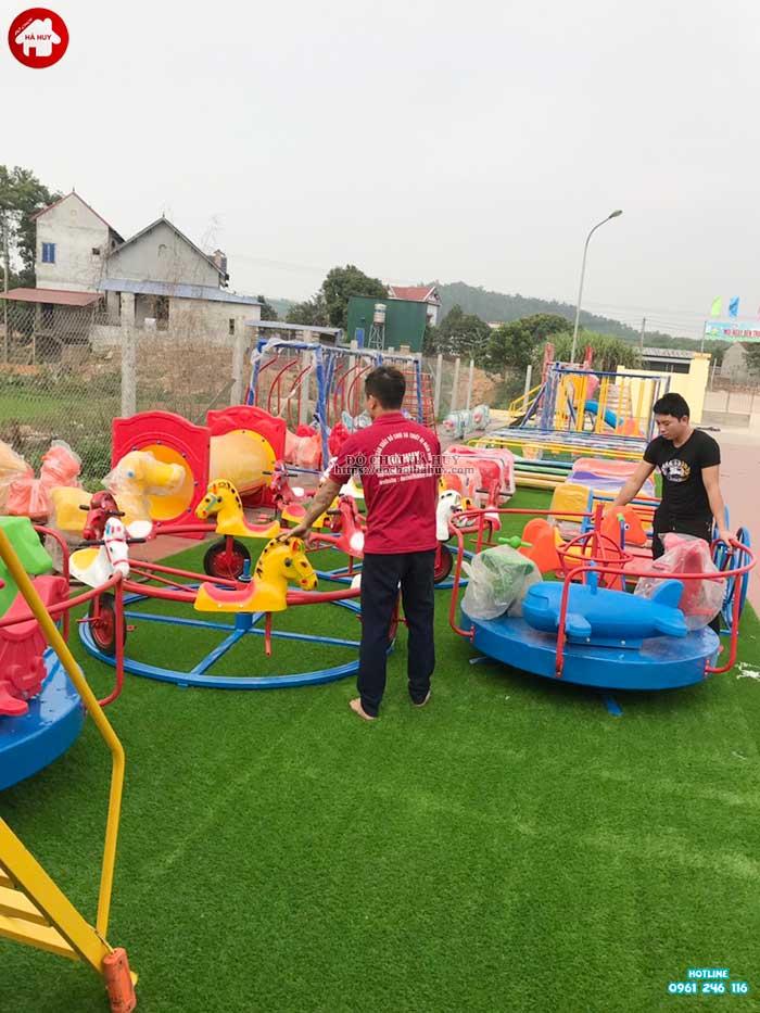 Sản xuất lắp đặt đồ chơi ngoài trời cho bé mầm non tại Hà Tĩnh-8