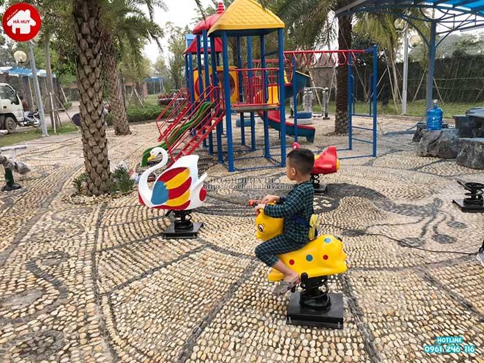 Sản xuất lắp đặt đồ chơi ngoài trời cho bé trường mầm non tại Hải Dương-4