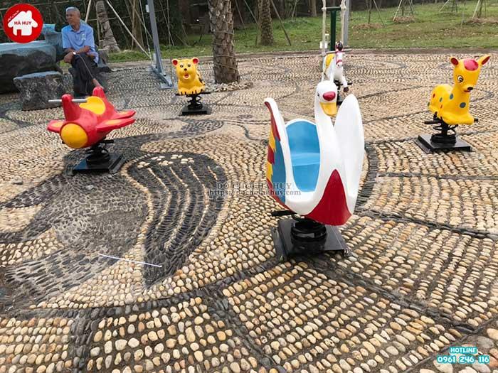 Sản xuất lắp đặt đồ chơi ngoài trời cho bé trường mầm non tại Hải Dương-5