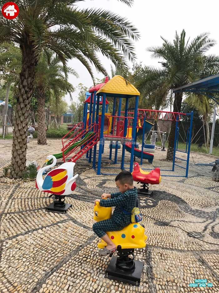 Sản xuất lắp đặt đồ chơi ngoài trời cho bé trường mầm non tại Hải Dương-6