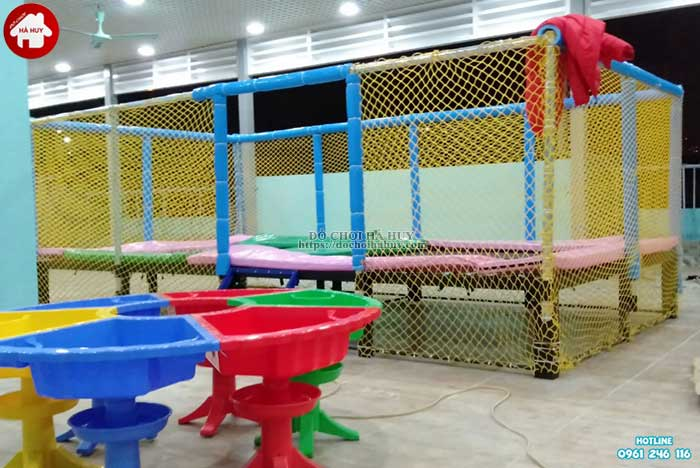 Sản xuất lắp đặt đồ chơi vận động trong nhà cho trẻ em mầm non-6