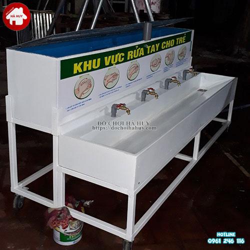 Bồn rửa tay bằng composite cho trường mầm non HD2-016