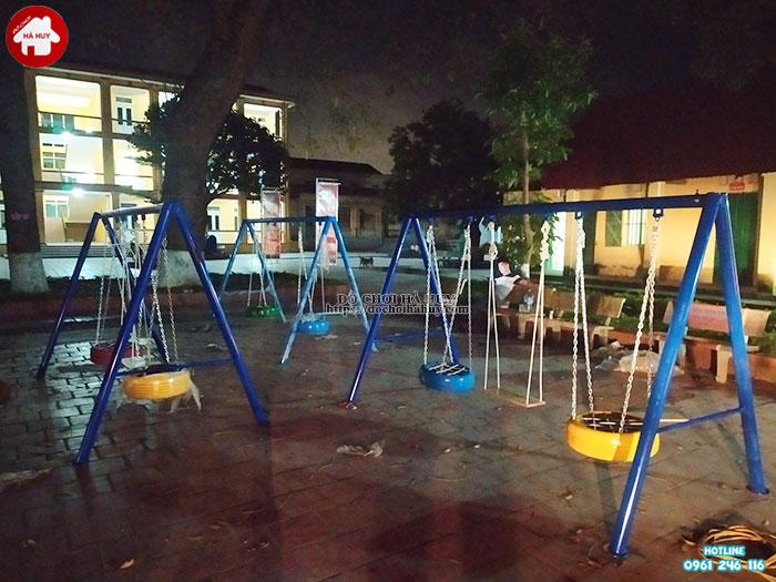 Lắp đặt đồ chơi ngoài trời cho trường mầm non tại Thái Nguyên-5