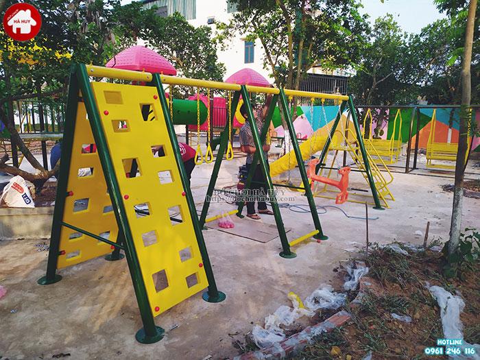 Sản xuất lắp đặt đồ chơi mầm non cho trường mầm non tại Ninh Bình-10