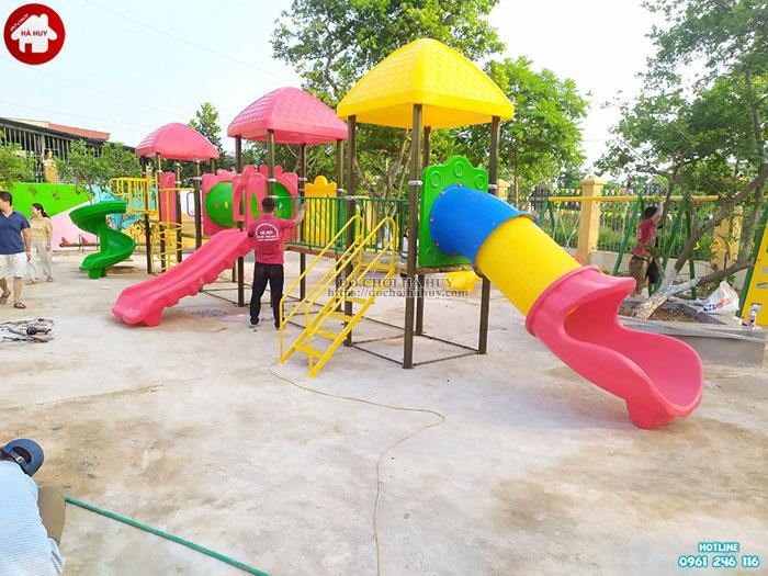 Sản xuất lắp đặt đồ chơi mầm non cho trường mầm non tại Ninh Bình-3