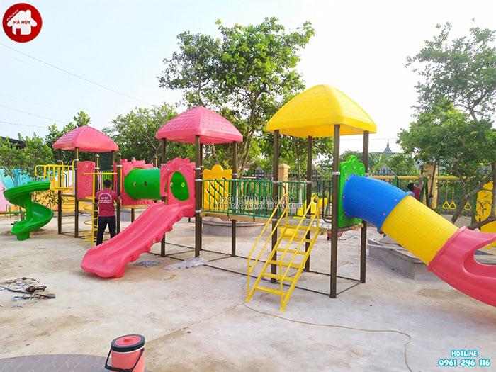 Sản xuất lắp đặt đồ chơi mầm non cho trường mầm non tại Ninh Bình-4