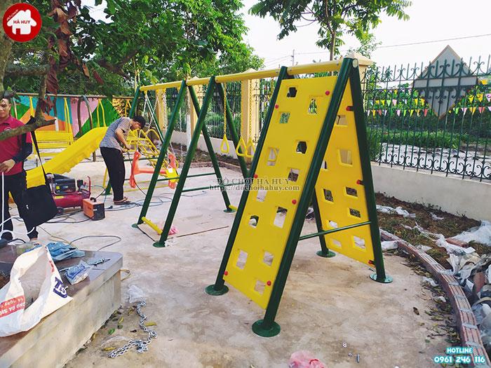 Sản xuất lắp đặt đồ chơi mầm non cho trường mầm non tại Ninh Bình-9