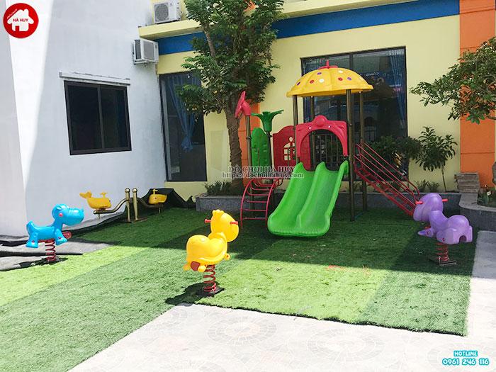 Sản xuất đồ chơi ngoài trời cho khu vui chơi trẻ em tại Quảng Bình-1