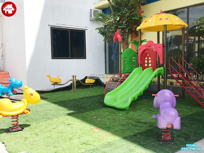 Sản xuất đồ chơi ngoài trời cho khu vui chơi trẻ em tại Quảng Bình-2