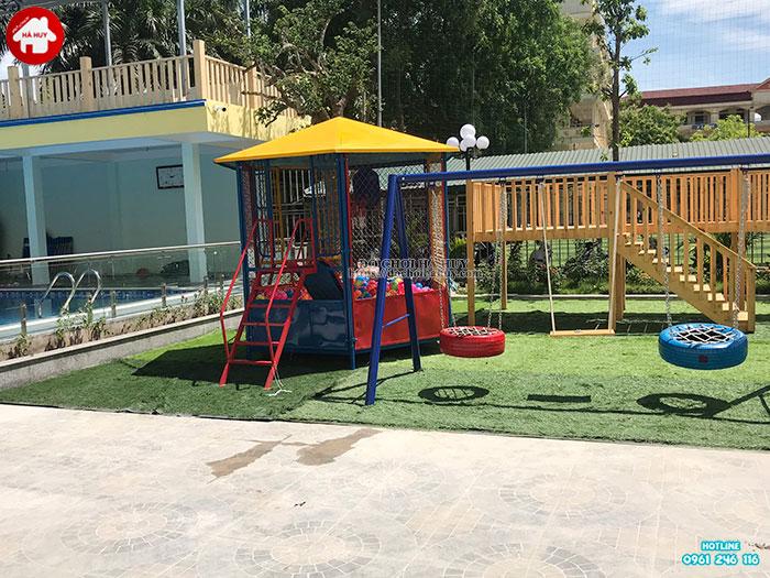 Sản xuất đồ chơi ngoài trời cho khu vui chơi trẻ em tại Quảng Bình-4