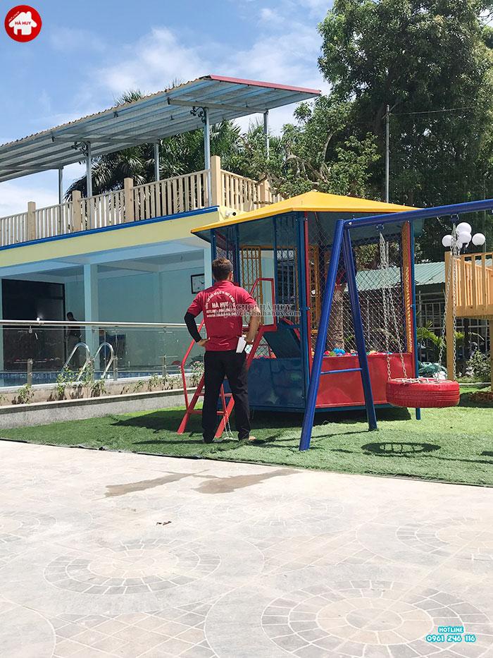 Sản xuất đồ chơi ngoài trời cho khu vui chơi trẻ em tại Quảng Bình-5