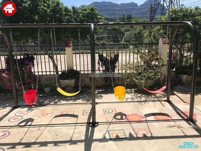 Sản xuất lắp đặt đồ chơi ngoài trời cho trường mầm non tại Hòa Bình-2