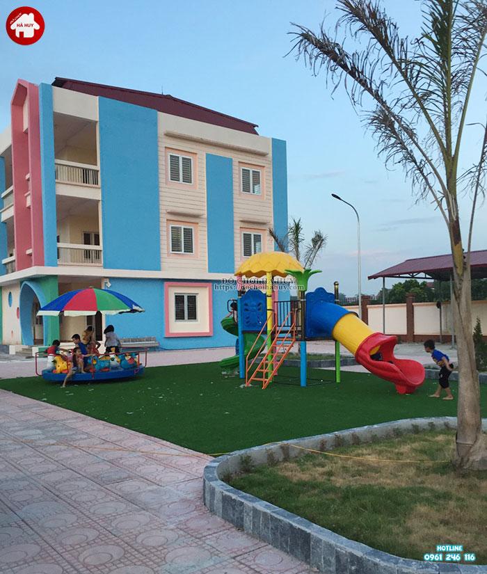 Sản xuất lắp đặt đồ chơi ngoài trời trường mầm non tại Bắc Ninh-1