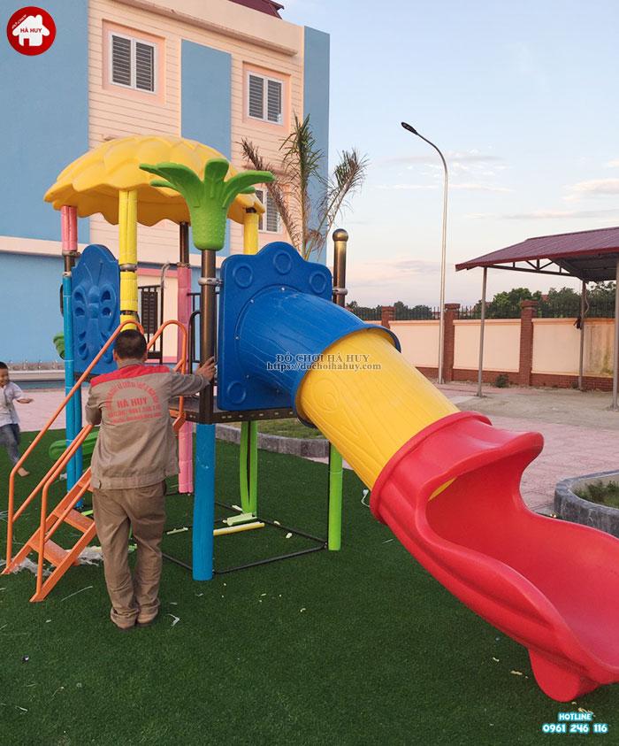 Sản xuất lắp đặt đồ chơi ngoài trời trường mầm non tại Bắc Ninh-4