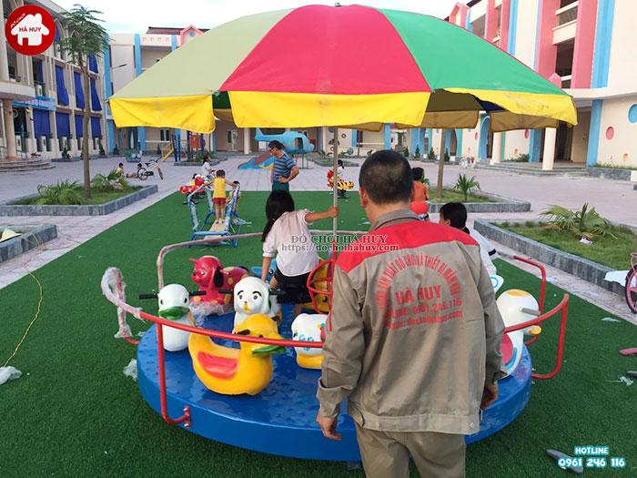 Sản xuất lắp đặt đồ chơi ngoài trời trường mầm non tại Bắc Ninh-5