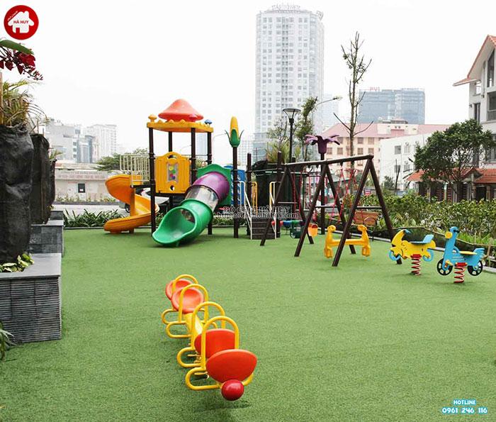 Tư vấn lắp đặt khu vui chơi ngoài trời cho trẻ em tại khu chung cư-6