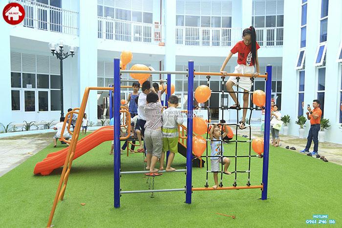 Tư vấn lắp đặt khu vui chơi ngoài trời cho trẻ em tại khu chung cư-7