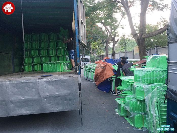 Cung cấp bàn ghế nhựa mầm non số lượng lớn cho khách tại Sơn La-2
