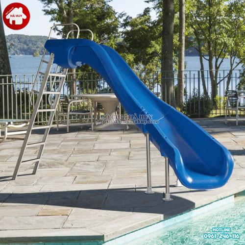 Mua cầu trượt bể bơi ở đâu uy tín