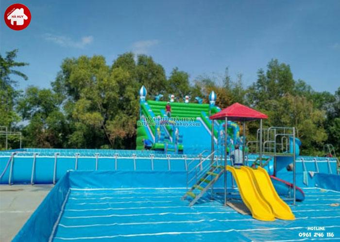 cách kiểm tra chất lượng và bảo quản cầu trượt bể bơi