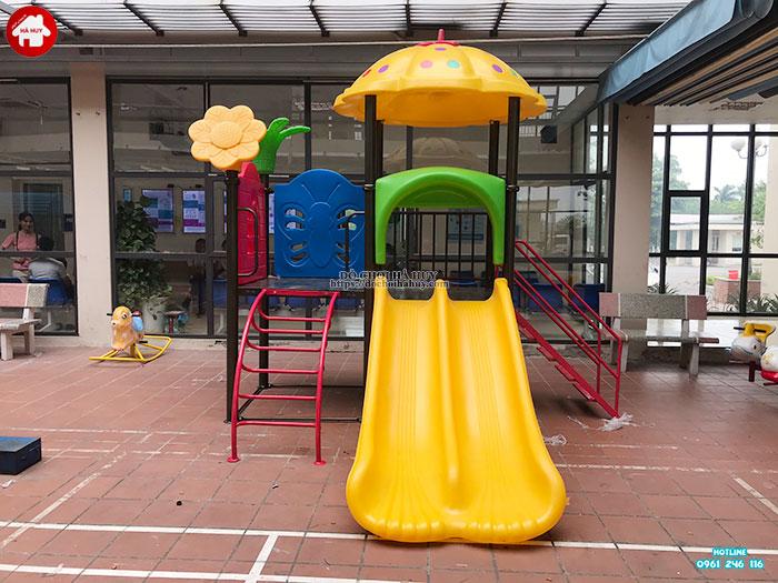 Sản xuất đồ chơi ngoài trời cho sân chơi tại trạm y tế huyện Đông Anh-6