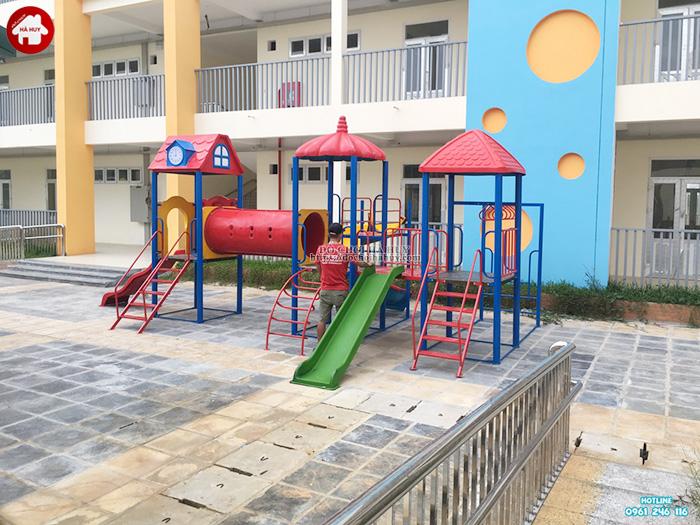 Sản xuất đồ chơi ngoài trời cho trường mầm non tại Hoài Đức, Hà Nội-1