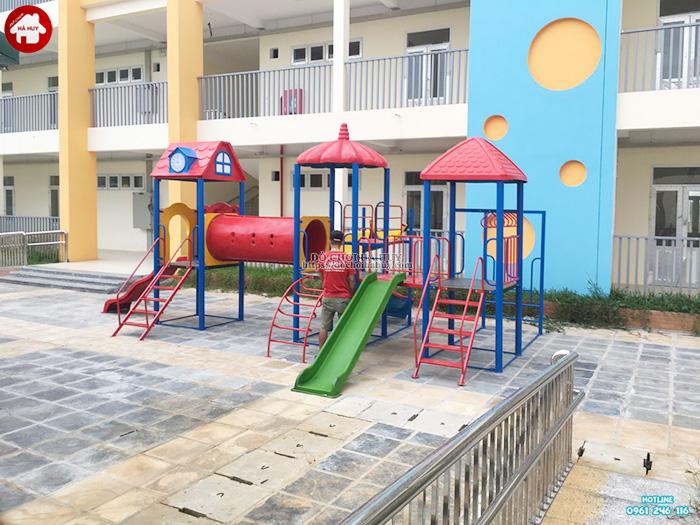 Sản xuất đồ chơi ngoài trời cho trường mầm non tại Hoài Đức, Hà Nội-2
