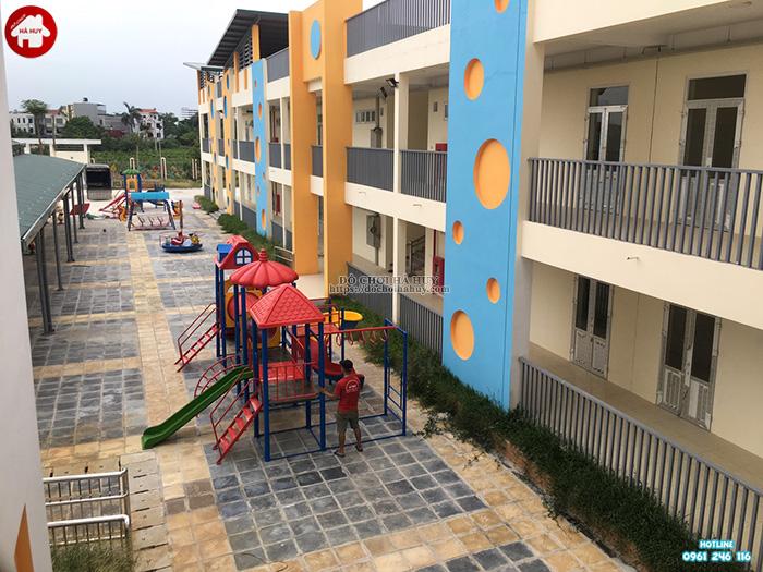 Sản xuất đồ chơi ngoài trời cho trường mầm non tại Hoài Đức, Hà Nội-5