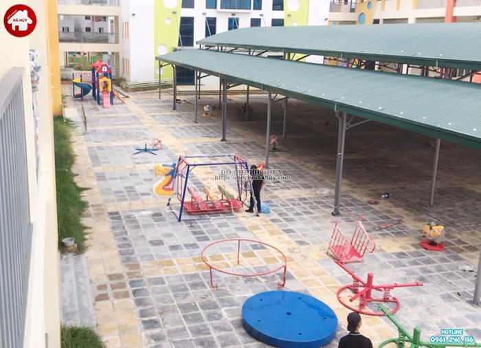Sản xuất đồ chơi ngoài trời cho trường mầm non tại Hoài Đức, Hà Nội-7