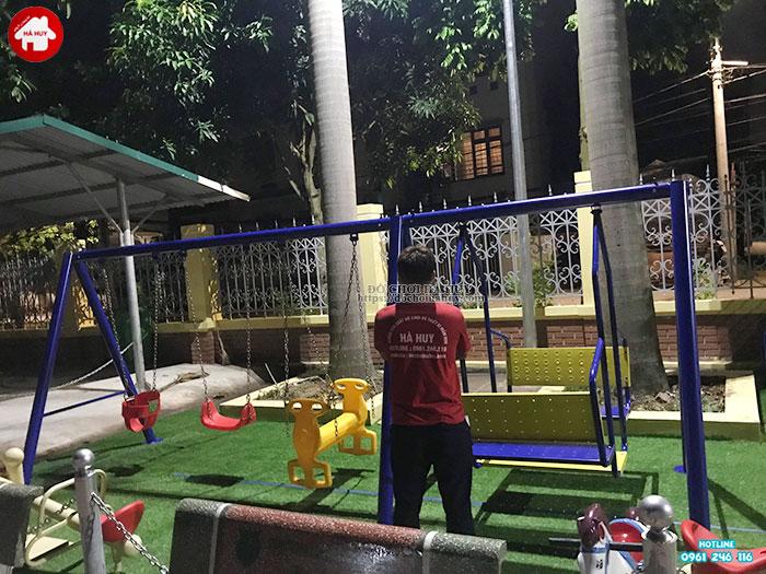 Sản xuất lắp đặt đồ chơi ngoài trời cho sân chơi trẻ em tại Đông Anh-10