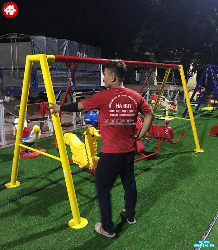 Sản xuất lắp đặt đồ chơi ngoài trời cho sân chơi trẻ em tại Đông Anh-11