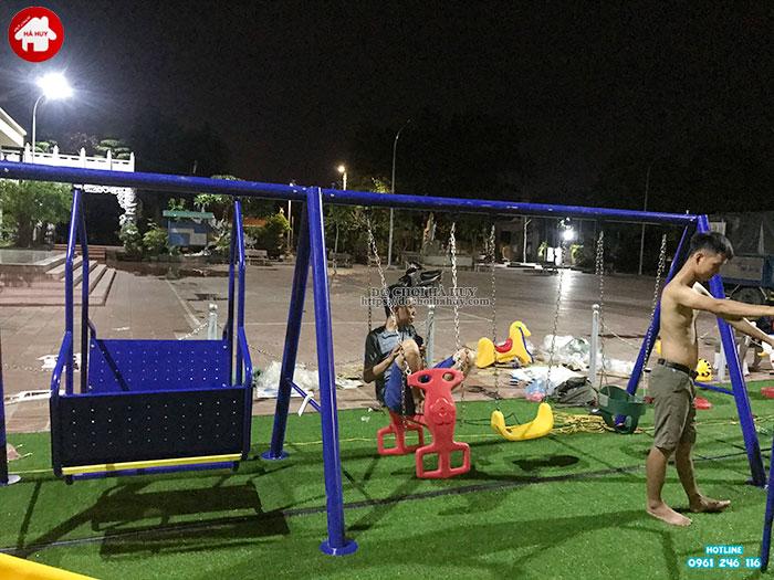 Sản xuất lắp đặt đồ chơi ngoài trời cho sân chơi trẻ em tại Đông Anh-2