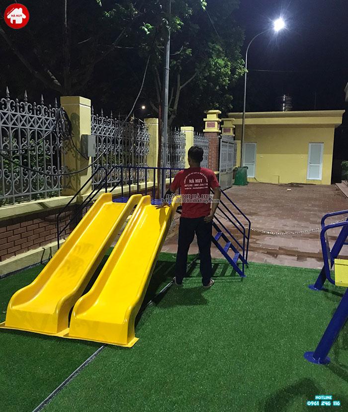 Sản xuất lắp đặt đồ chơi ngoài trời cho sân chơi trẻ em tại Đông Anh-4