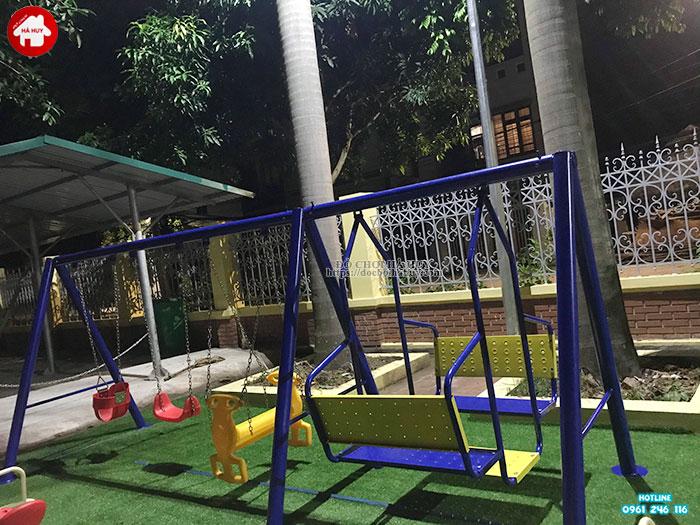 Sản xuất lắp đặt đồ chơi ngoài trời cho sân chơi trẻ em tại Đông Anh-5