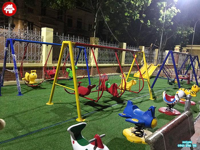 Sản xuất lắp đặt đồ chơi ngoài trời cho sân chơi trẻ em tại Đông Anh-7