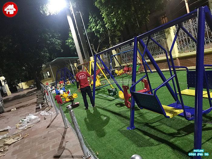 Sản xuất lắp đặt đồ chơi ngoài trời cho sân chơi trẻ em tại Đông Anh-8