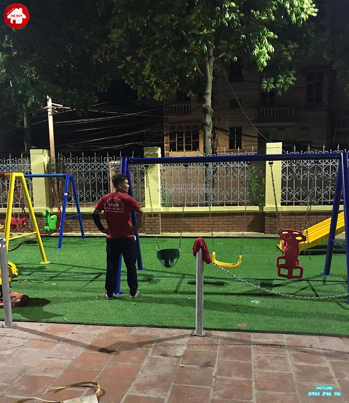 Sản xuất lắp đặt đồ chơi ngoài trời cho sân chơi trẻ em tại Đông Anh-9