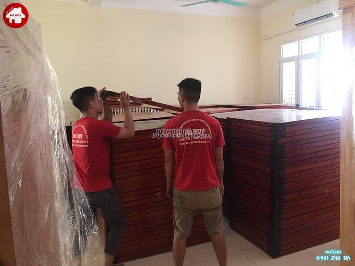 Sản xuất sản phẩm nội thất mầm non cho trường mầm non tại Bắc Ninh-5