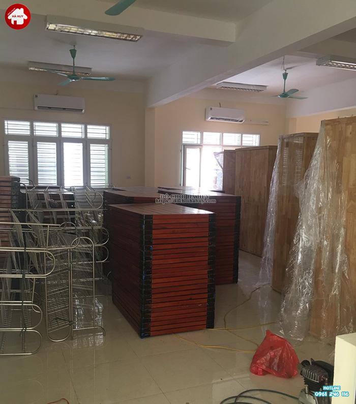 Sản xuất sản phẩm nội thất mầm non cho trường mầm non tại Bắc Ninh-6