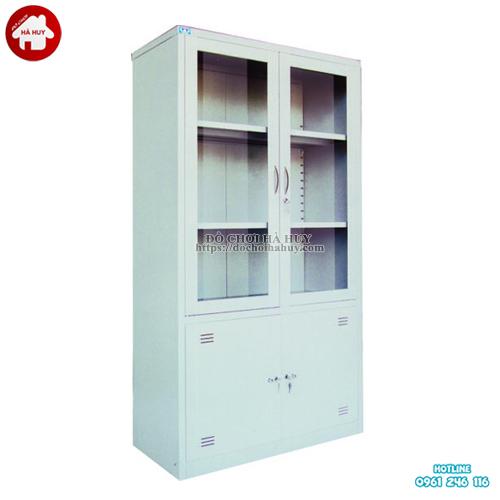 Tủ đựng tài liệu bằng sắt 2 cánh HC6-004