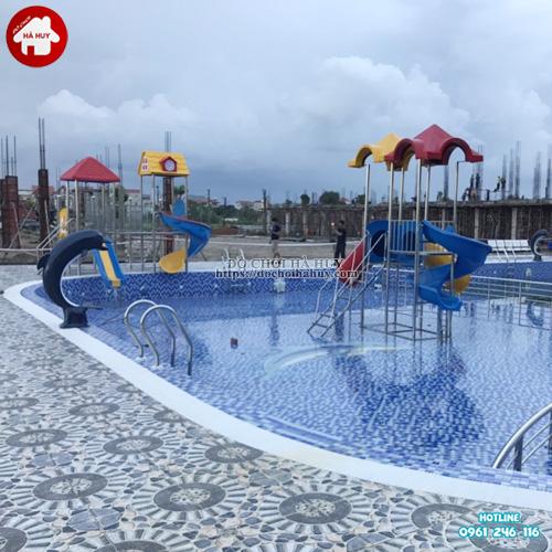 Cầu trượt bể bơi giá rẻ HB12-015