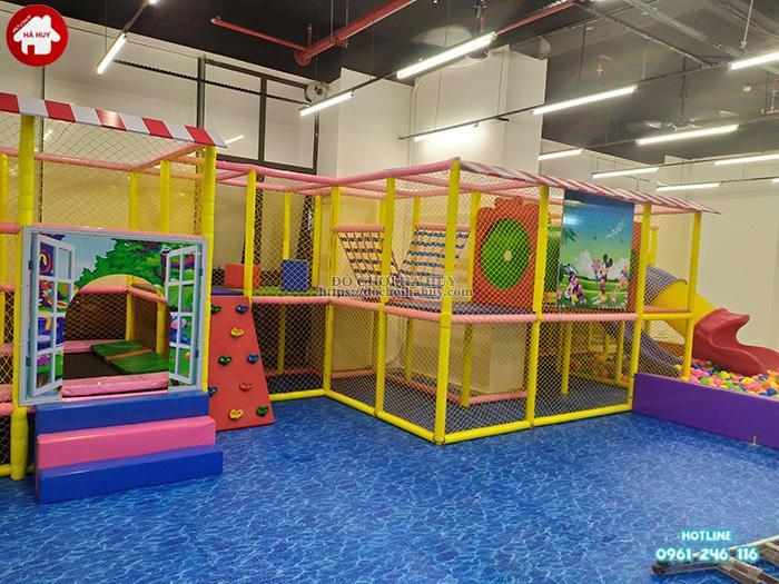 lắp đặt nhà liên hoàn trong nhà 50-100 m2