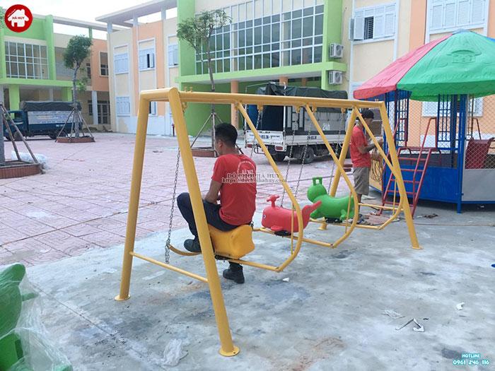 Sản xuất lắp đặt đồ chơi ngoài trời cho trường mầm non tại Bắc Ninh