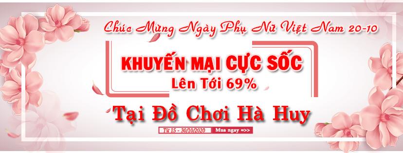 Khuyến mại CỰC SỐC nhân ngày Phụ Nữ Việt Nam 20/10/2020