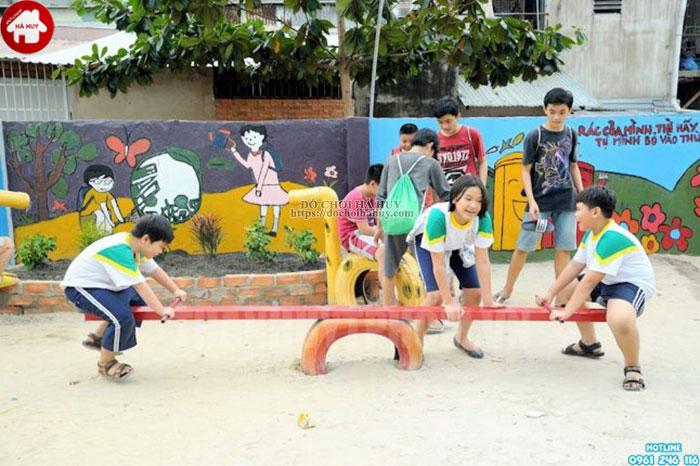 tạo sức hút cho khu vui chơi trẻ em ở nông thôn