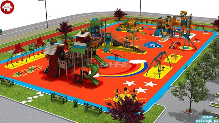Đầu tư mở khu vui chơi trẻ em ở nông thôn