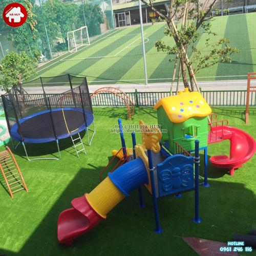 Khu vui chơi cho trẻ em ngoài trời KVC-013